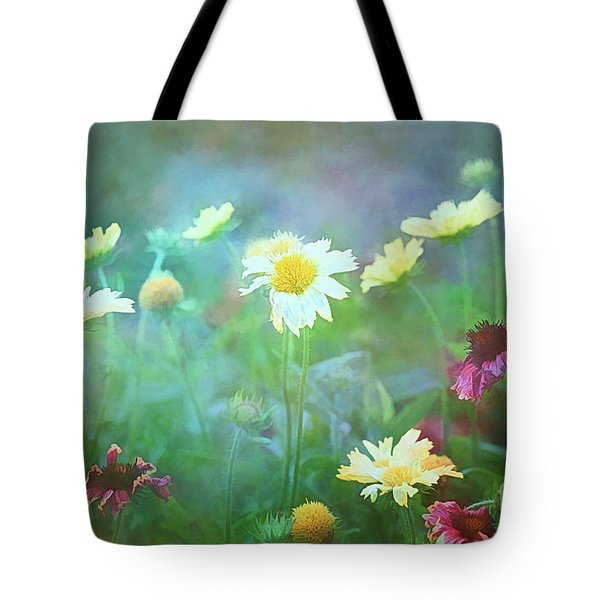 The Joy Of Summer Flowers Tote Bag