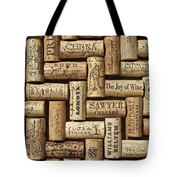 The Joy Of Wines Tote Bag by Anthony Jones