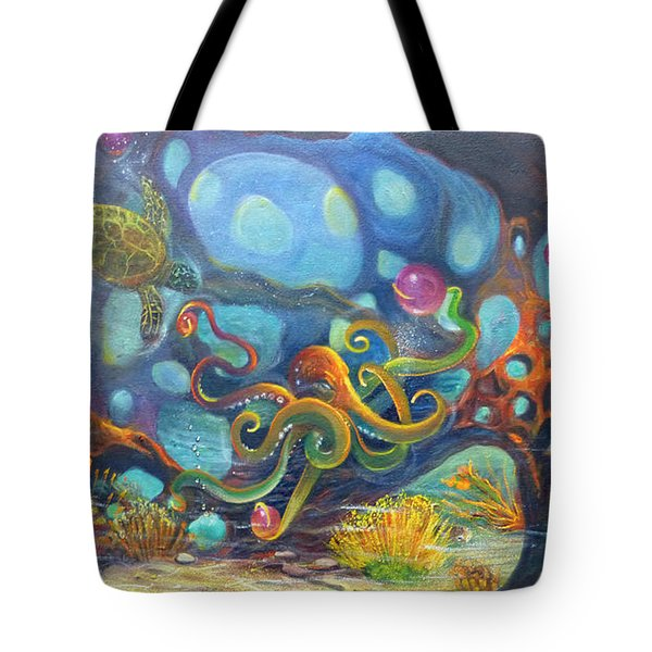 The Juggler Tote Bag by Claudia Goodell