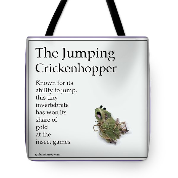 The Jumping Crickenhopper Tote Bag