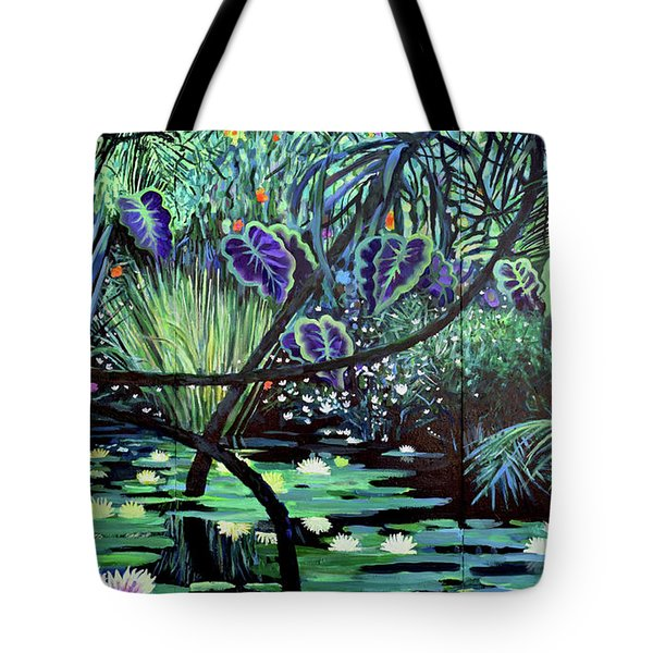 The Jungle Tote Bag by Geoff Greene