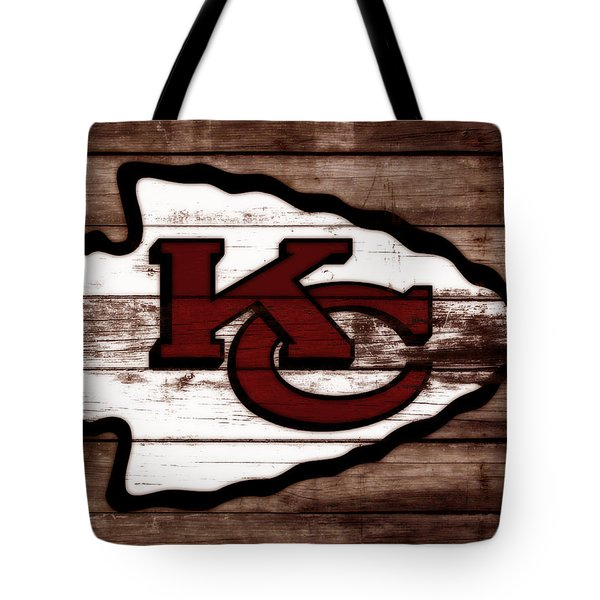 The Kansas City Chiefs 3b Tote Bag