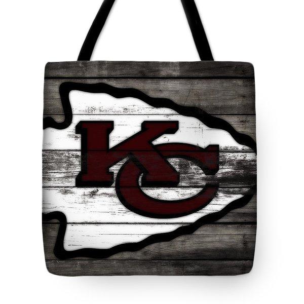 The Kansas City Chiefs 3f   Tote Bag