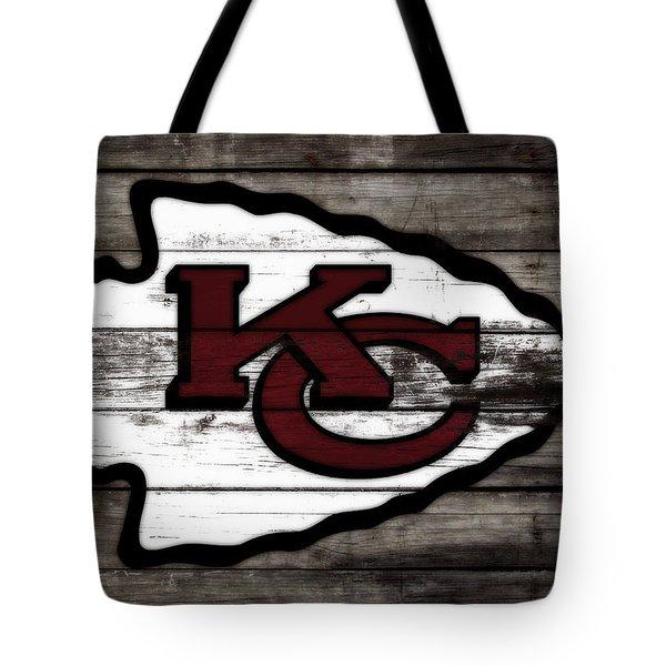 The Kansas City Chiefs 3i   Tote Bag