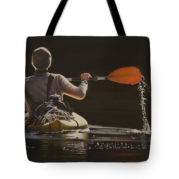 The Kayaker Tote Bag