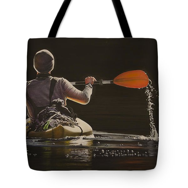The Kayaker Tote Bag