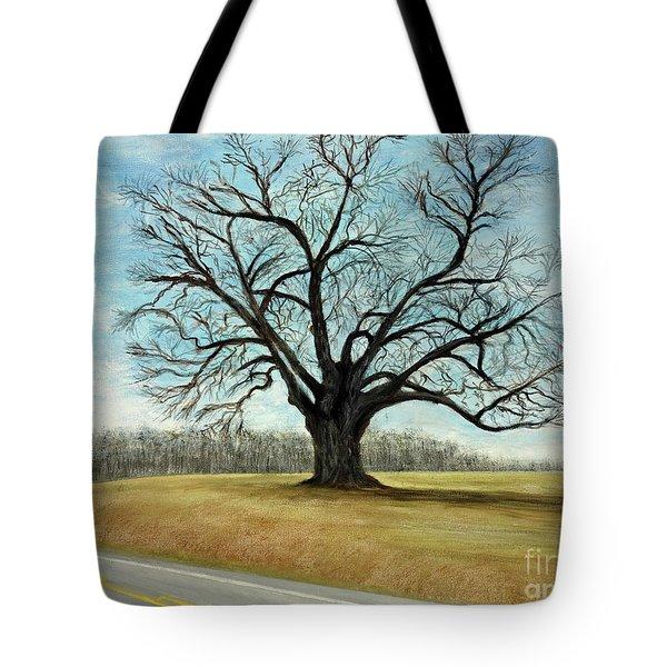 The Keeler Oak Tote Bag