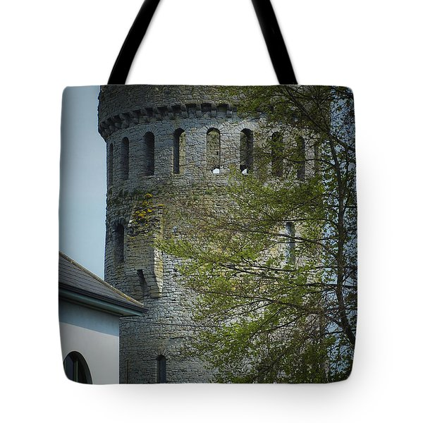 The Keep At Nenagh Castle Ireland Tote Bag