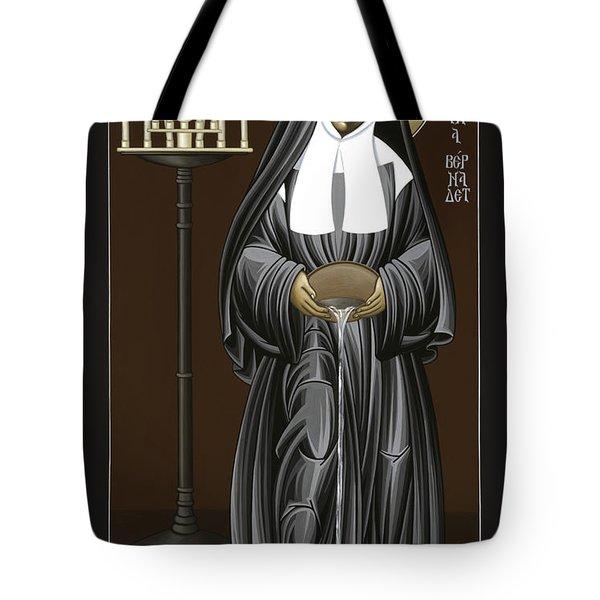 The Kenosis Of St Bernadette Of Lourdes 063 Tote Bag