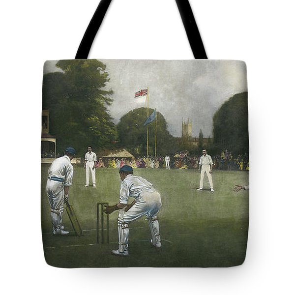 The Kent Eleven Champions, 1906 Tote Bag