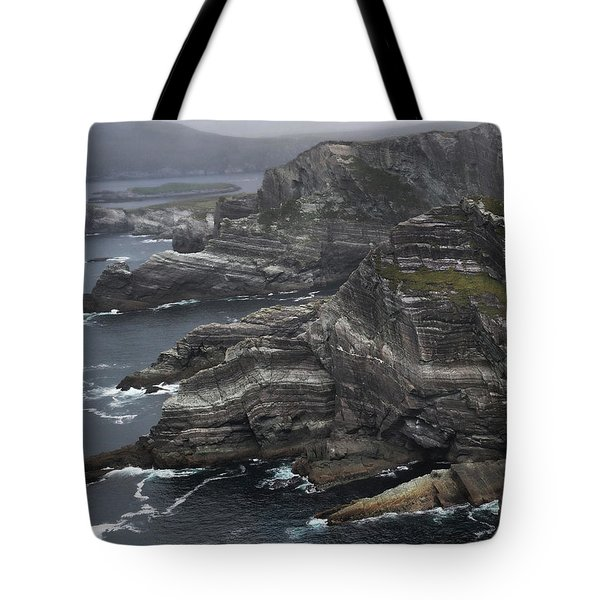 The Kerry Cliffs, Ireland Tote Bag
