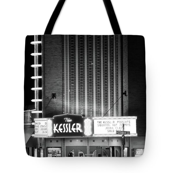 The Kessler V2 091516 Bw Tote Bag