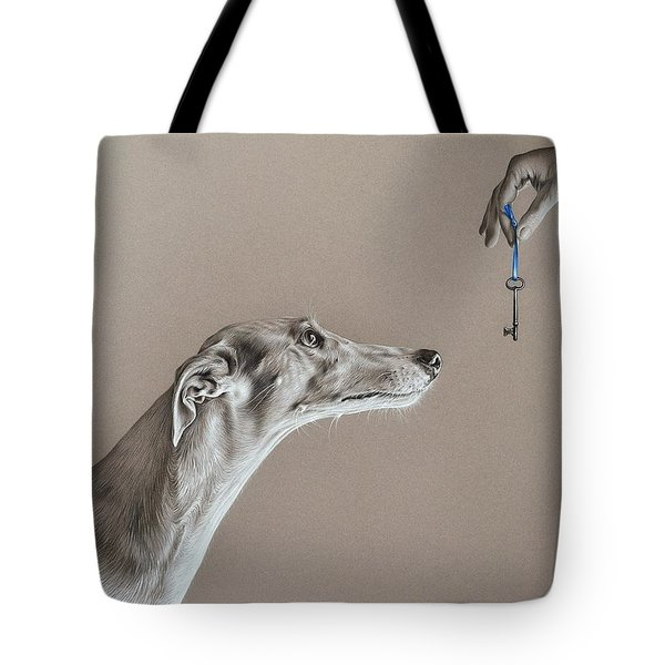 The Key Of Sincerity Tote Bag