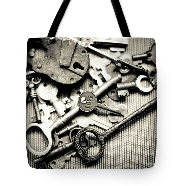 Tote Bag featuring the photograph The Key To Love by Ana V Ramirez