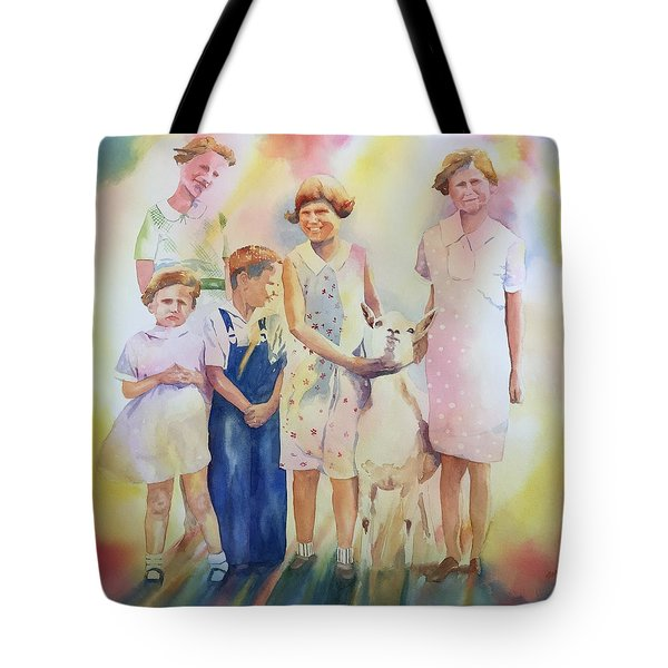 The Kids And The Kid Tote Bag