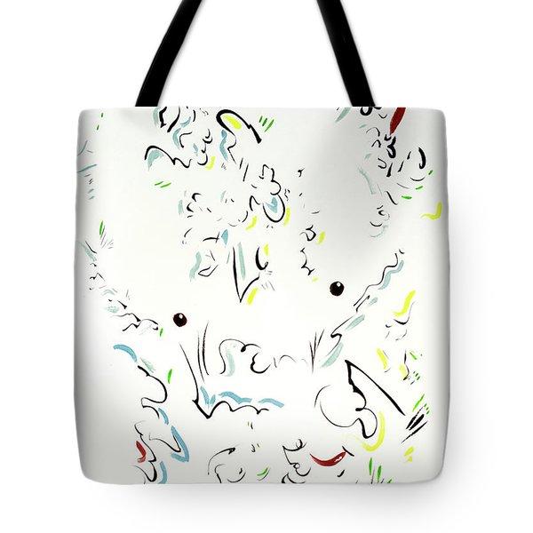 The Kindly Minotaur Tote Bag