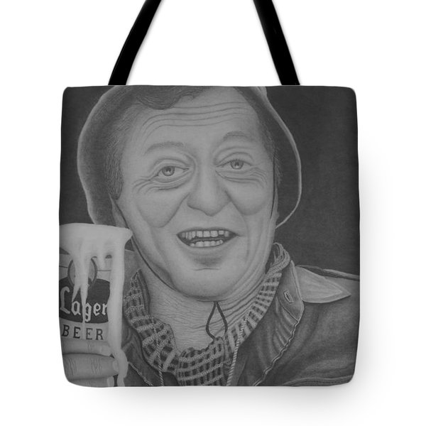 The King Tote Bag by Brian Leverton