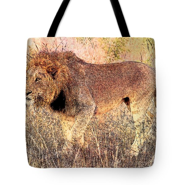 The King Tote Bag by Ericamaxine Price