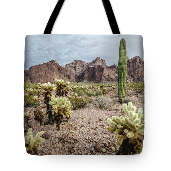 The King Of Arizona National Wildlife Refuge Tote Bag