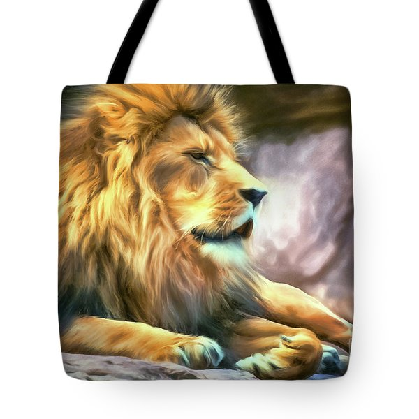 The King Of Cool Tote Bag by Tina LeCour