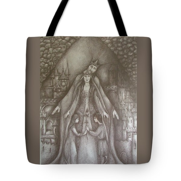Royal Family Tote Bag by Rita Fetisov