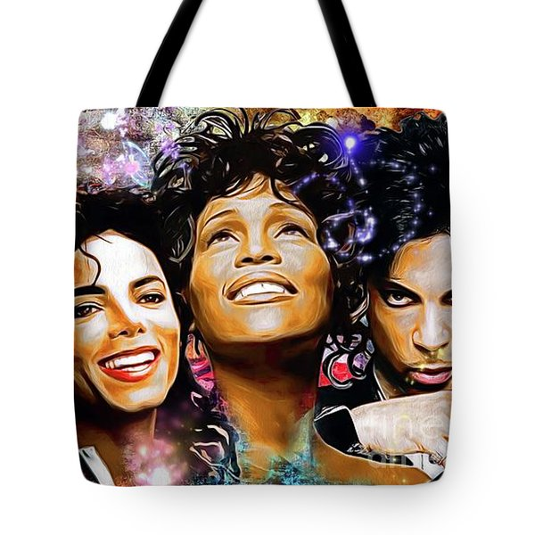 The King, The Queen And The Prince Tote Bag by Daniel Janda