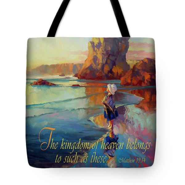 The Kingdom Belongs To These Tote Bag
