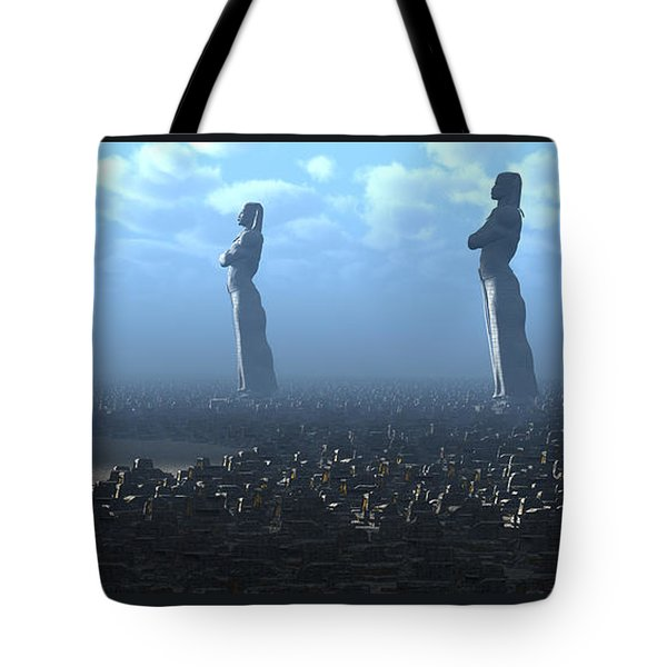 The Kings Await Morning Tote Bag
