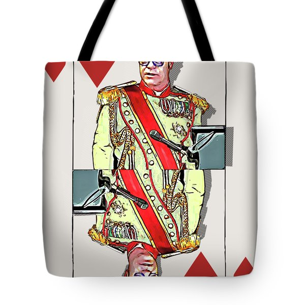 The Kings - Elton John Tote Bag