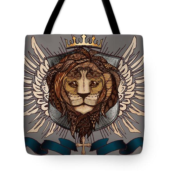 The King's Heraldry II Tote Bag
