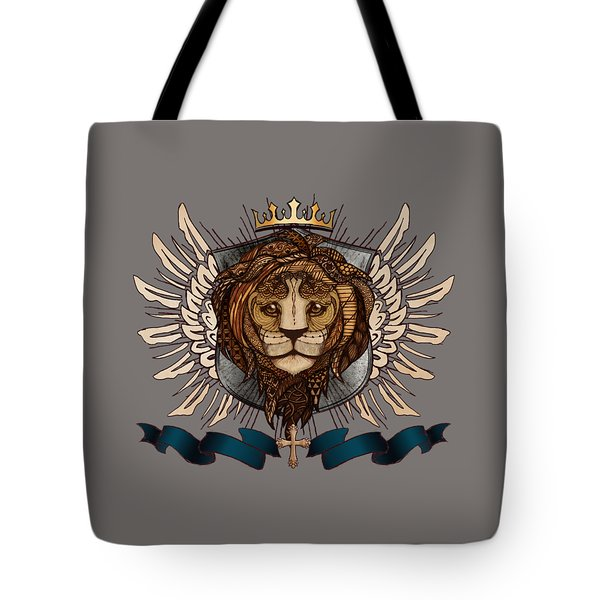 The King's Heraldry II Tote Bag