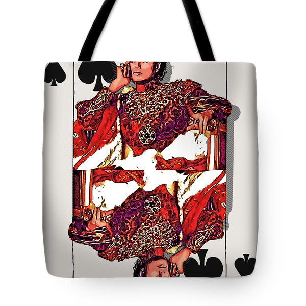 The Kings - Michael Jackson Tote Bag