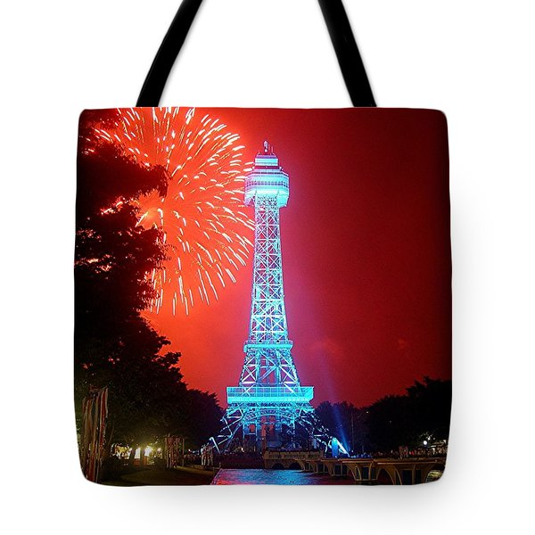 The King's Tower Tote Bag by Barkley Simpson