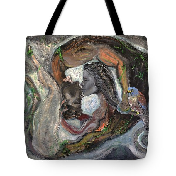 The Kiss  Tote Bag by Antonio Ortiz