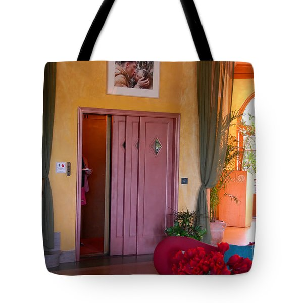 The Kiss Tote Bag by David Lee Thompson