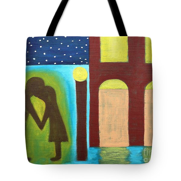 The Kiss Goodnight Tote Bag by Patrick J Murphy