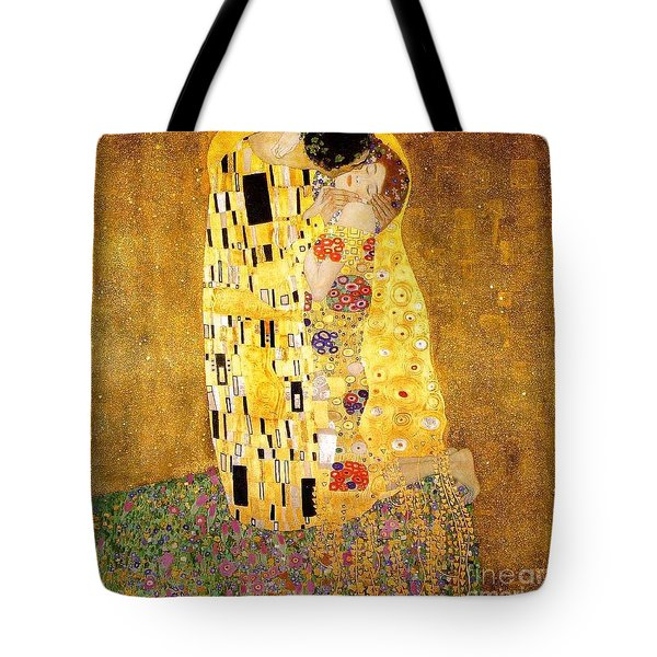 The Kiss Tote Bag by Klimt
