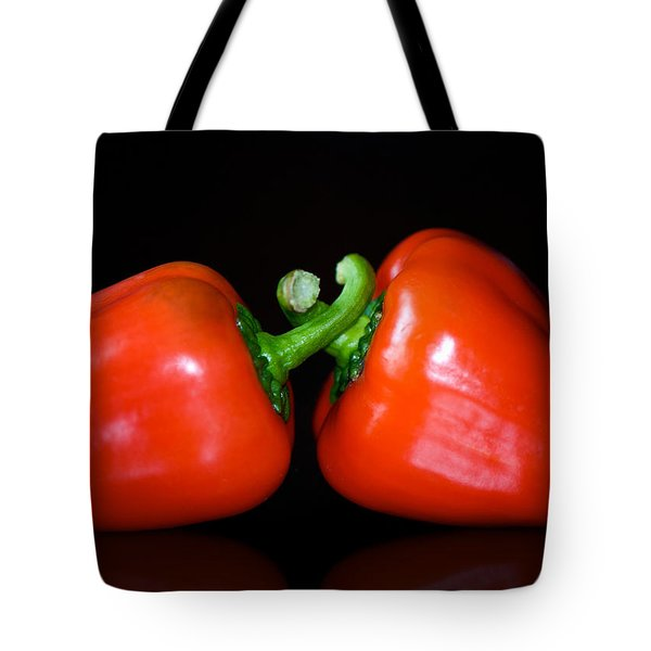 the Kiss Tote Bag by Lisa Knechtel