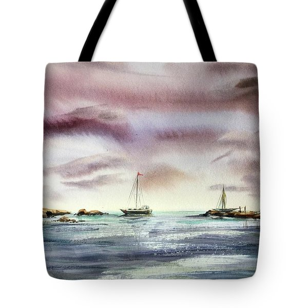 The Kiss Of The Night Tote Bag