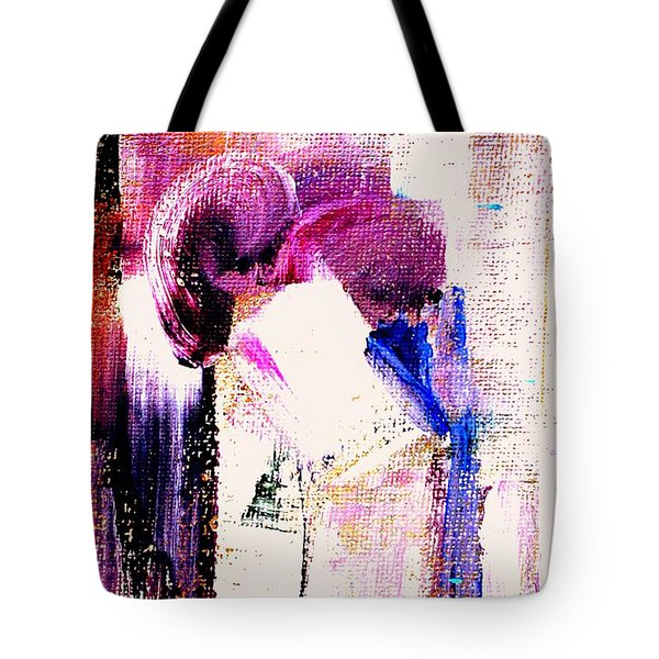 The Kiss Tote Bag by VIVA Anderson