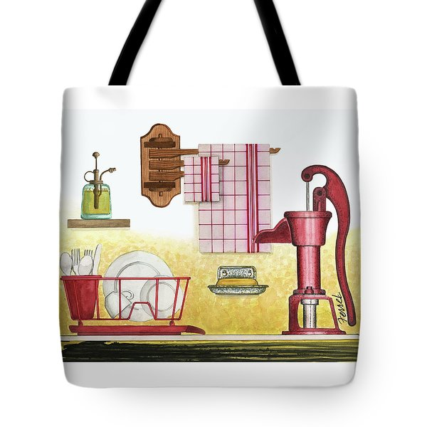 The Kitchen Sink Tote Bag