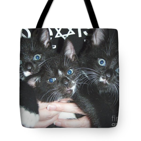 The Kittidiots Tote Bag