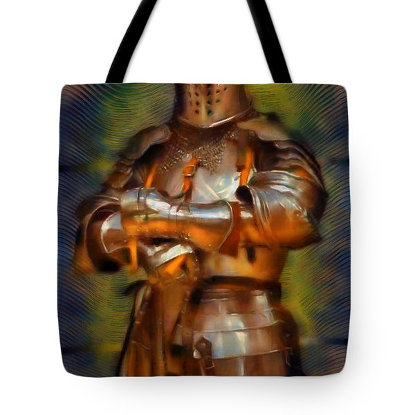 The Knight In Shining Armor Tote Bag