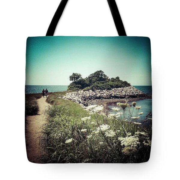 The Knob Looking Ahead Tote Bag