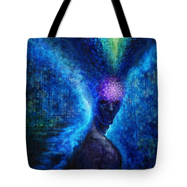 The Knowing Tote Bag by Tony Koehl