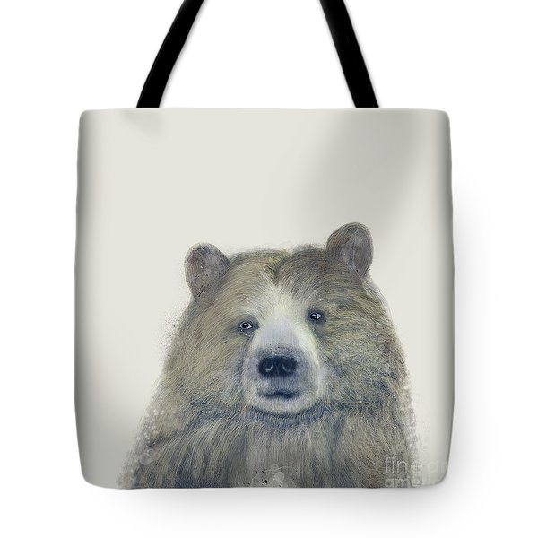 The Kodiak Bear Tote Bag