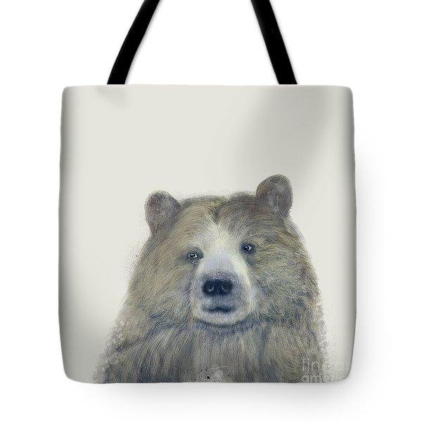 The Kodiak Bear Tote Bag