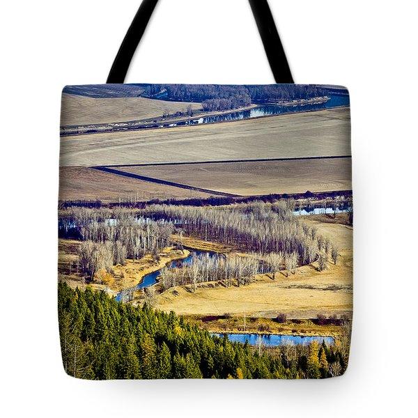 The Kootenai Valley Tote Bag