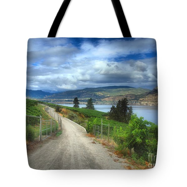 The Kvr Trail In Colour Tote Bag