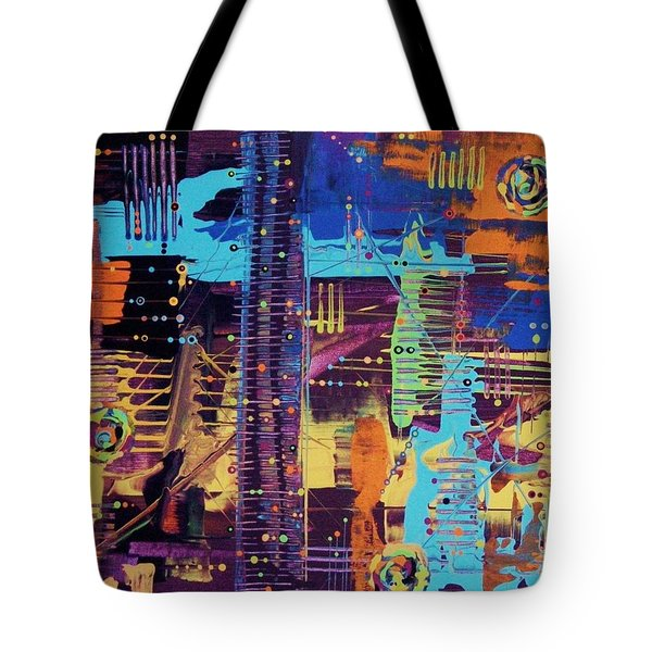 The La Sky On The 4th Of July Tote Bag
